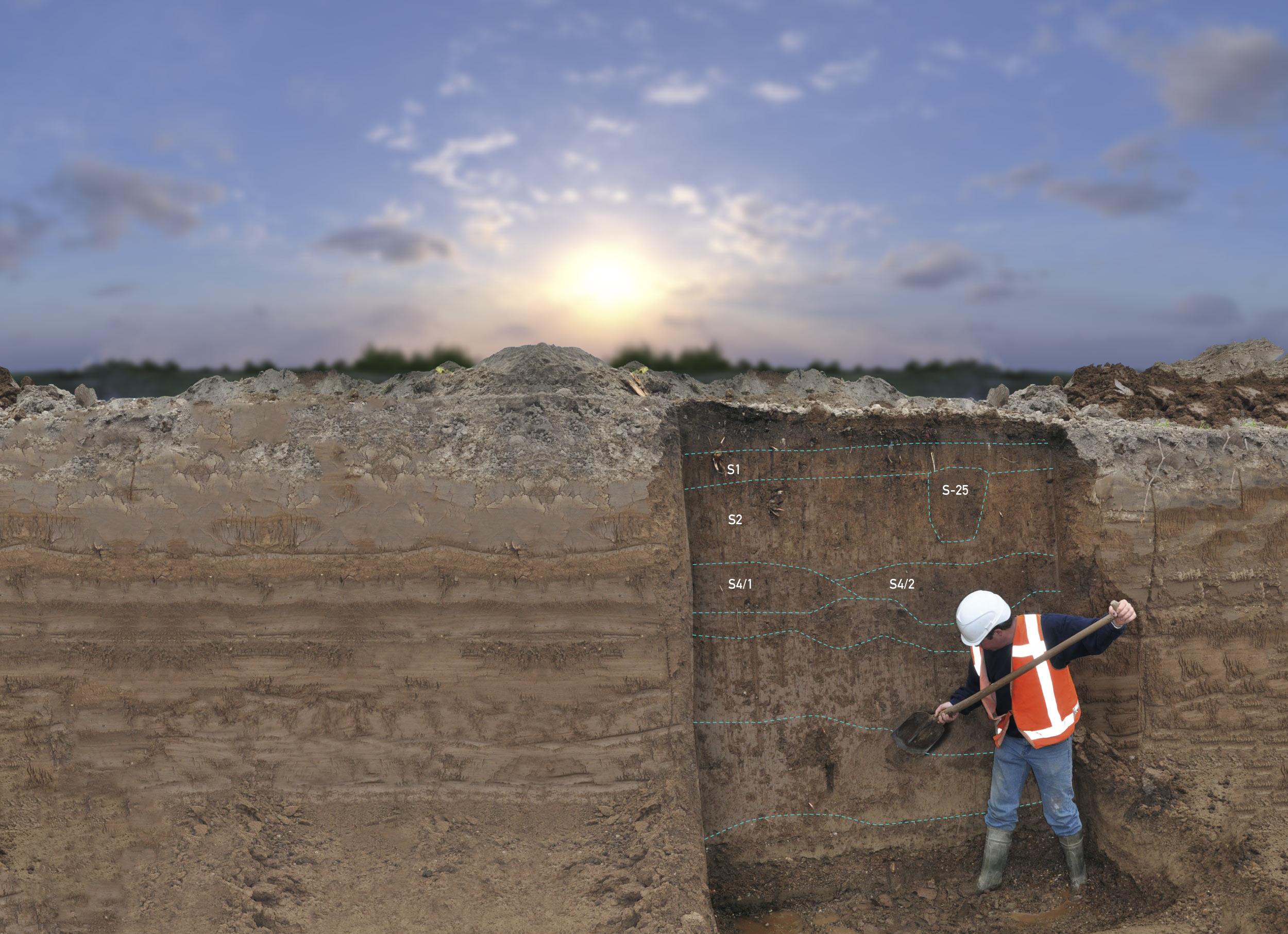 Archeologisch onderzoek: opgraving